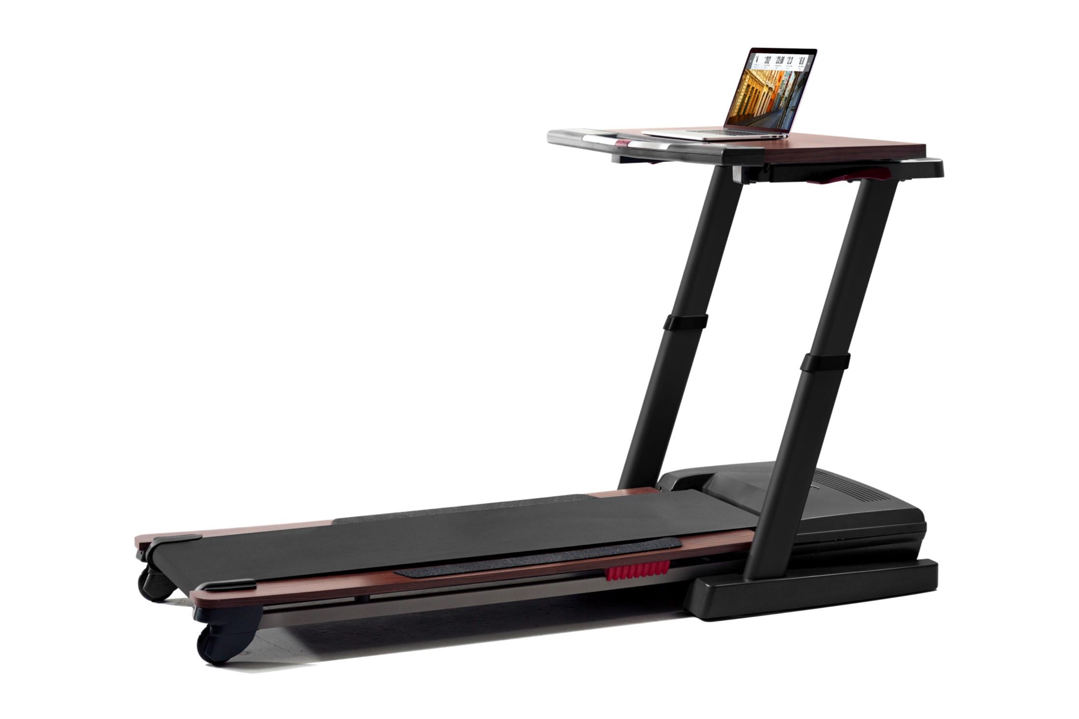 NordicTrack Treadmill Desk Platinum gallery image 1