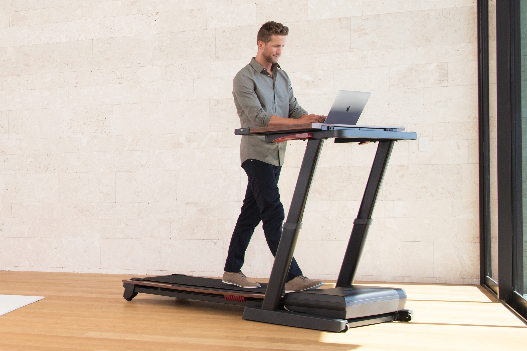 NordicTrack Treadmill Desk Platinum gallery image 3