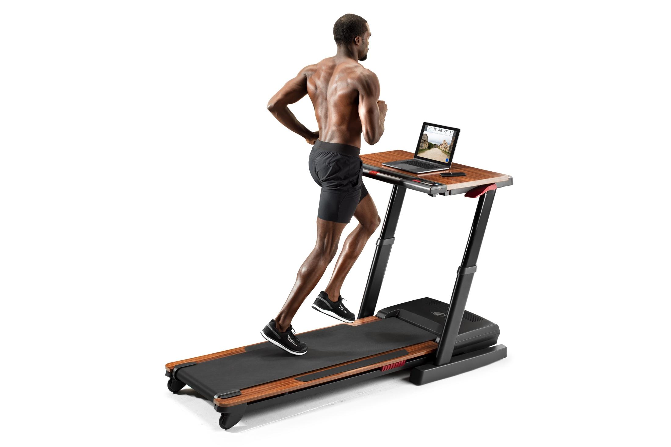 NordicTrack Treadmill Desk Platinum gallery image 5