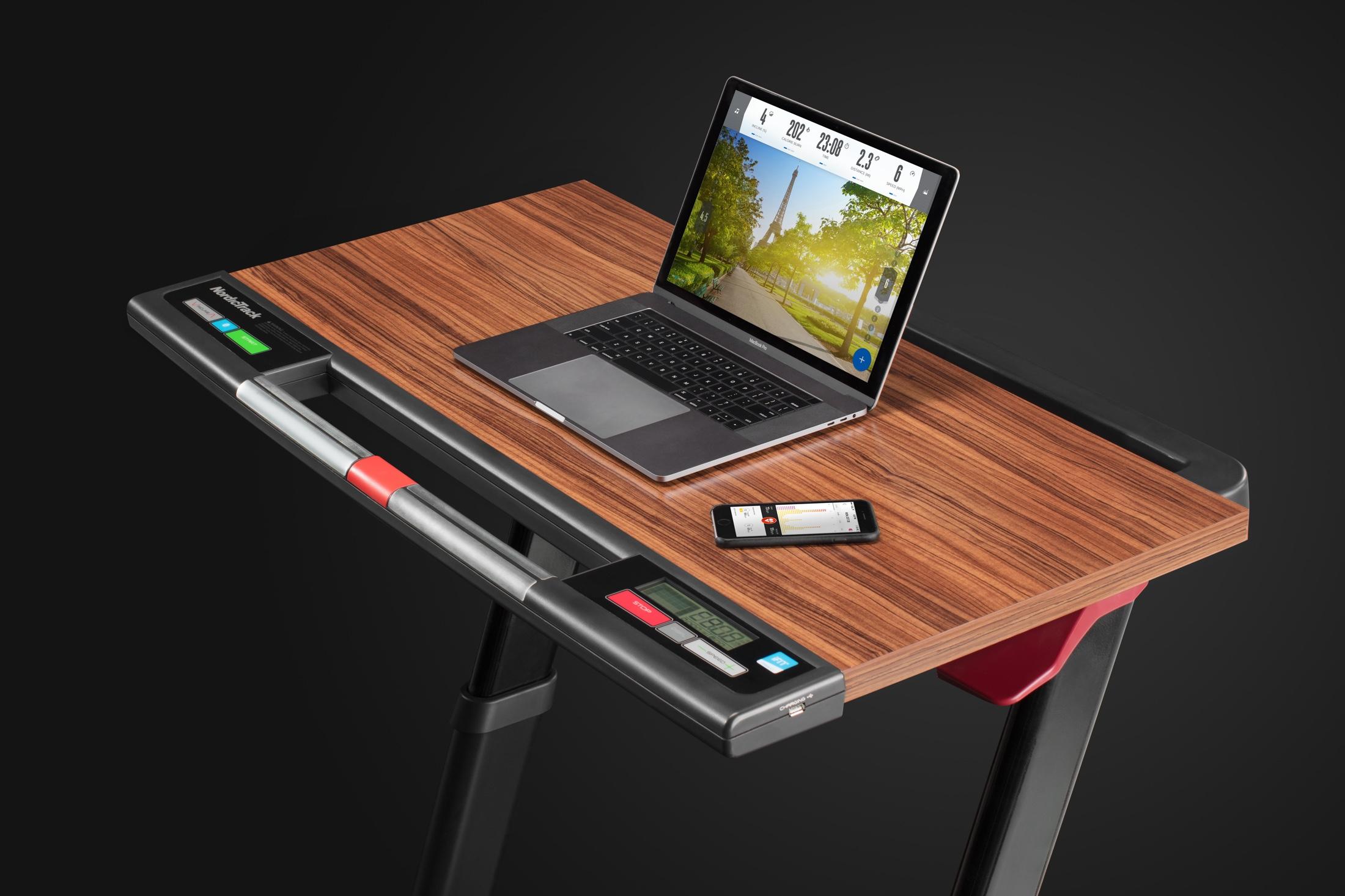 NordicTrack Treadmill Desk Platinum gallery image 6