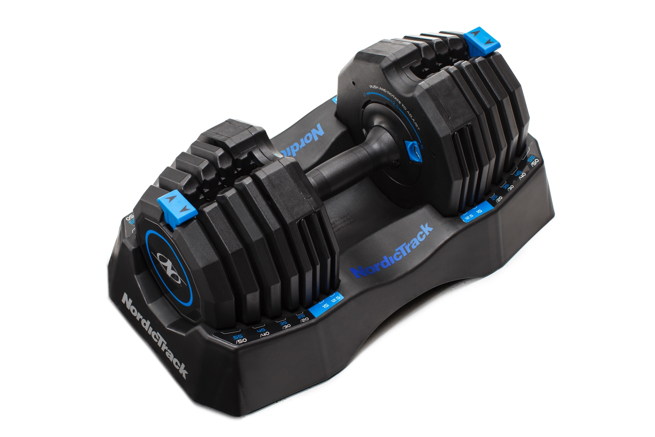 NordicTrack Select-A-Weight 55 Lb. Dumbbell Set gallery image 7