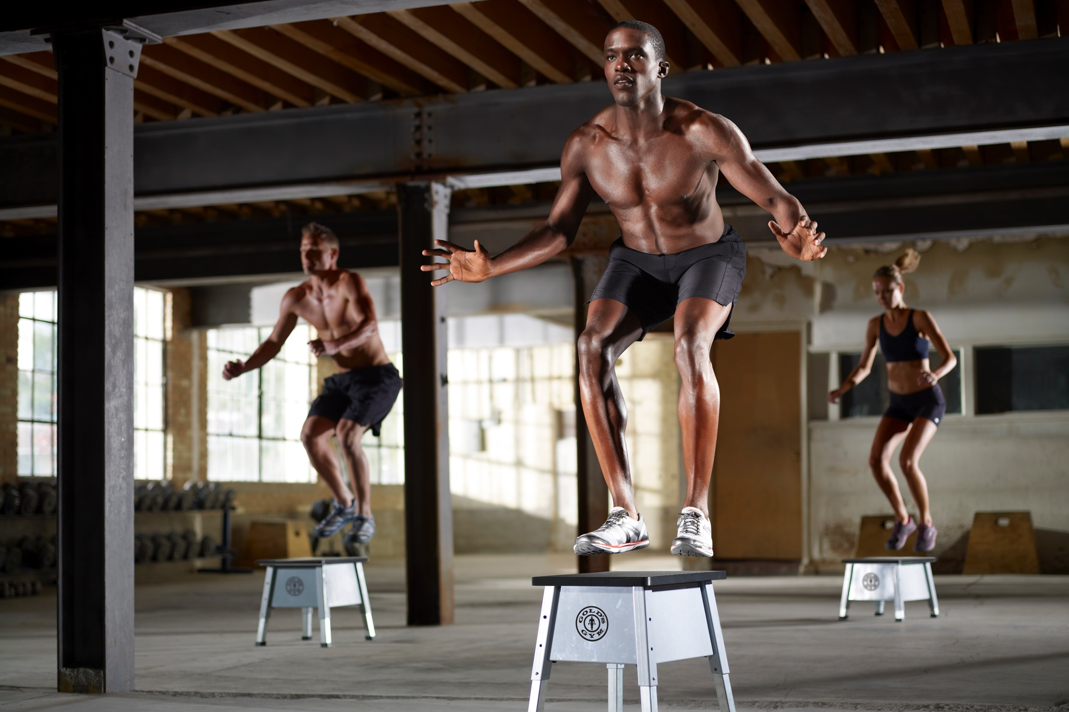 NordicTrack Gold's Gym Adjustable Plyometric Jump Box gallery image 3