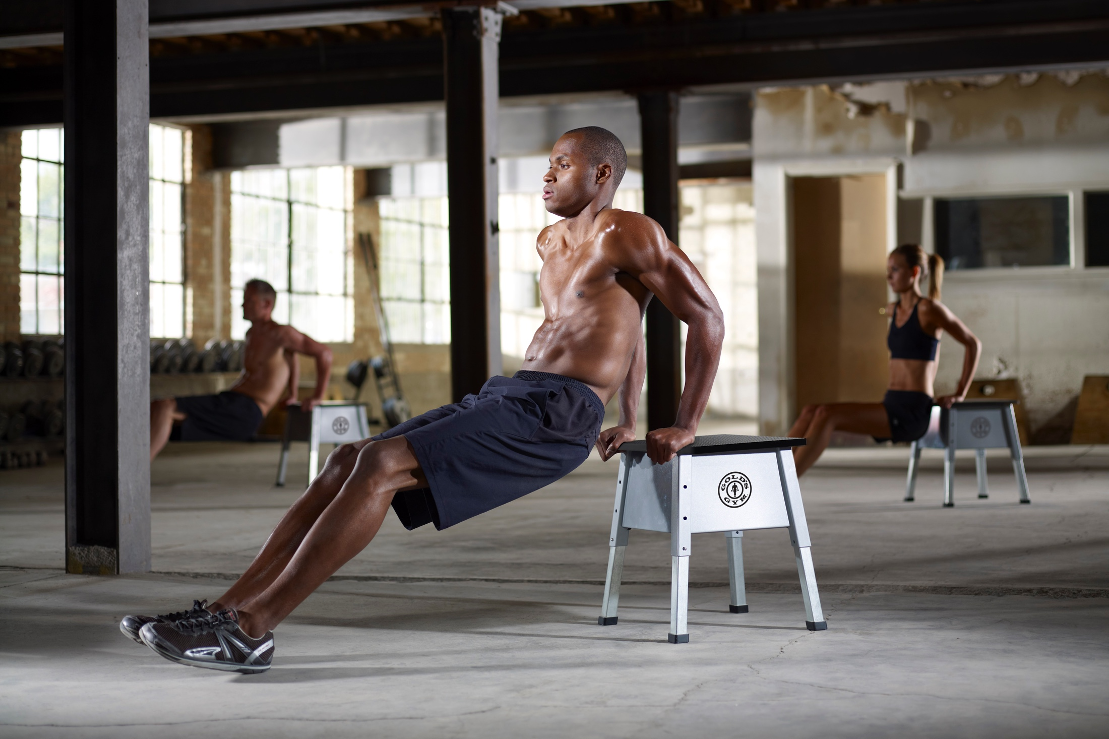 NordicTrack Gold's Gym Adjustable Plyometric Jump Box gallery image 5