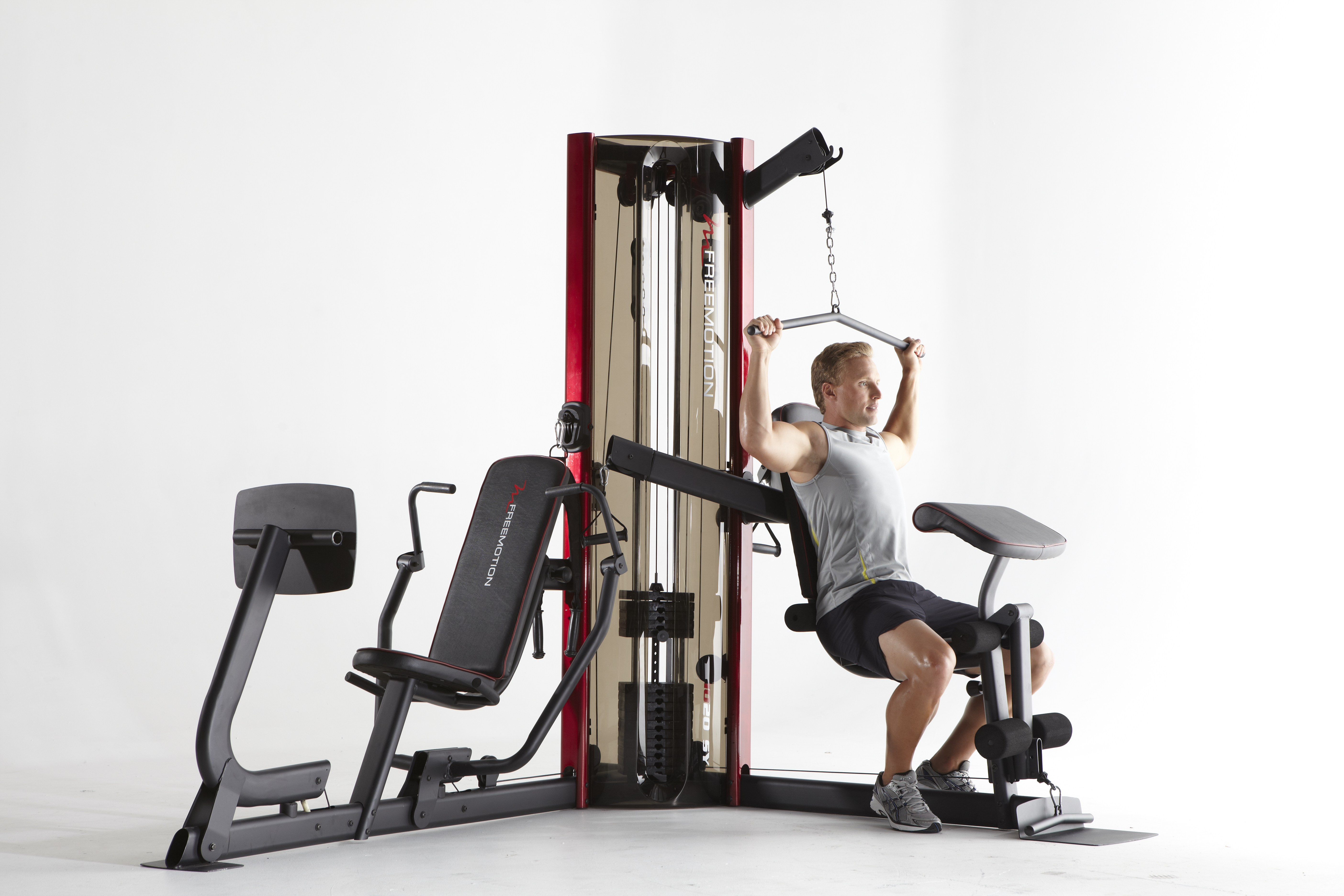 Workout Warehouse Strength Training FreeMotion 1020 SY Dual Station System
