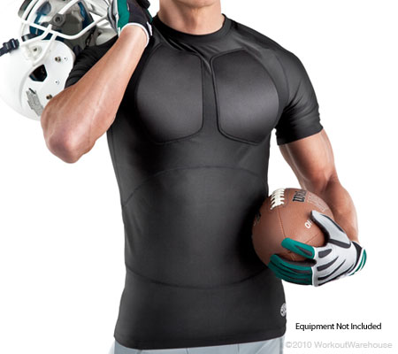 Workout Warehouse Gold's Gym Powerlift Training Short Sleeve Shirt M/L Accessories