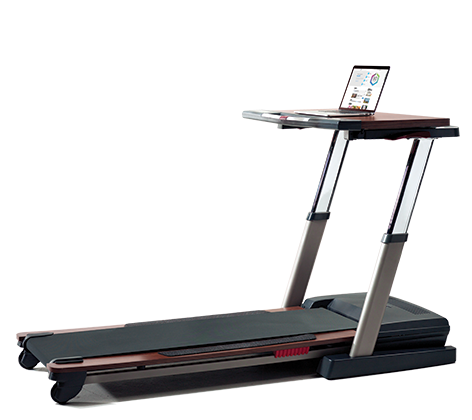Workout Warehouse Treadmills NordicTrack Treadmill Desk Platinum