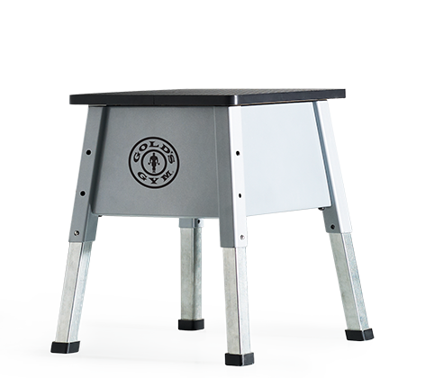 Workout Warehouse Accessories Gold's Gym Adjustable Plyometric Jump Box