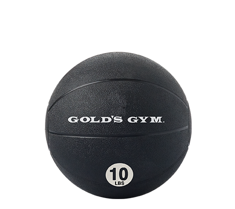 Workout Warehouse Gold's Gym 10 lb. Medicine Ball Accessories