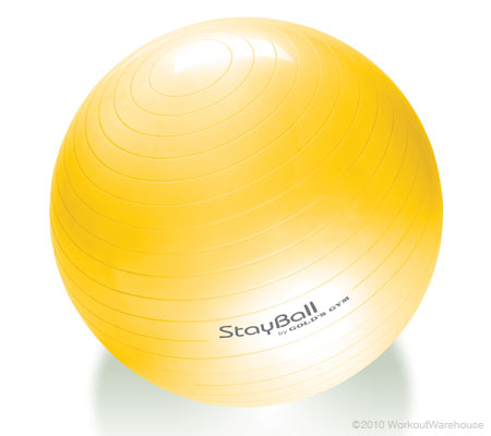 Workout Warehouse Accessories Gold's Gym 55cm Stay Ball
