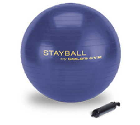 Workout Warehouse Accessories Gold's Gym 75cm Stay Ball