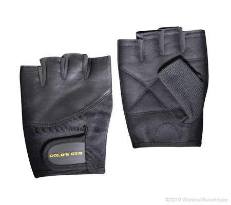 Workout Warehouse Accessories Gold's Gym Weight Lifting Glove L