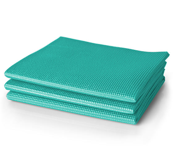 ProForm Lotus™ Folding Yoga Mat-Blue Accessories