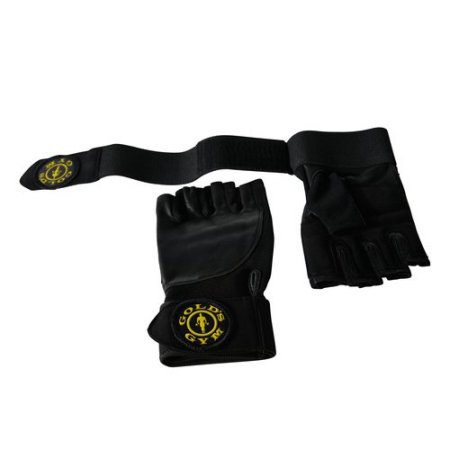 Get Gold's Gym Accessories Wrist Wrap Gloves