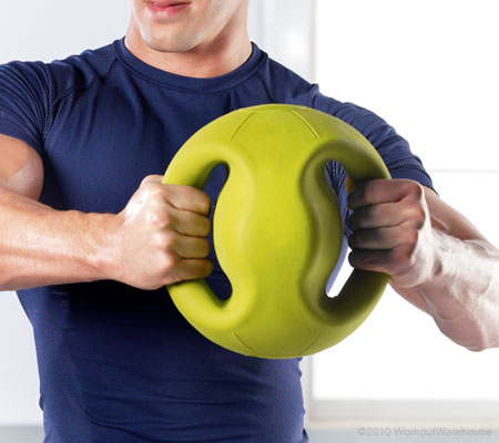 Get Gold's Gym Accessories 8 lb. Medicine Ball with Handles