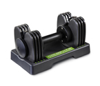 Get Gold's Gym SpaceSaver 25 Single Dumbbell Strength