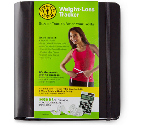 Get Gold's Gym Accessories Weight-Loss Tracker