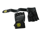 Get Gold's Gym Wrist Wrap Gloves Accessories