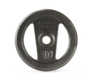 Get Gold's Gym Strength 10 lb. Open Handle Hammertone KettlePlate