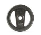Get Gold's Gym 10 lb. Open Handle Hammertone KettlePlate Strength
