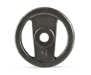 Get Gold's Gym Strength 5 lb. Open Handle Hammertone KettlePlate