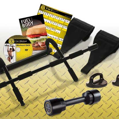 Get Gold's Gym Accessories 7-in-1 Body Building System