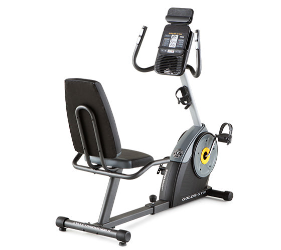 Get Gold's Gym Bikes Cycle Trainer 400 Ri Exercise Bike