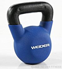 Weider Fitness Blue Kettle Bell (20 lbs) Kettle Bells