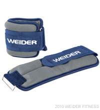 Weider Fitness Two 4 lb. Ankle Weights Accessories