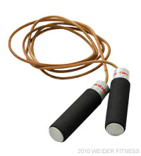 Weider Fitness Leather Jump Rope Accessories