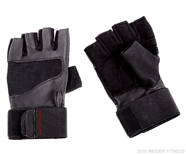 Weider Fitness Accessories Pro Wrist Wrap Training Glove (XL)