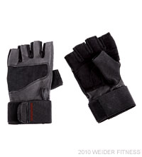 Weider Fitness Pro Wrist Wrap Training Glove (XL) Accessories