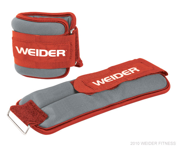 Weider Fitness Two 2.5 lb. Ankle Weights Accessories