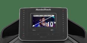 EXP 10i Treadmills console
