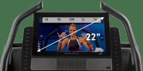 X22i Treadmills console