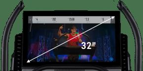 X32i Treadmills console