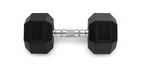 Individual Hex Dumbbells Strength Training console