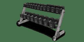 Premium Dumbbell Set & Dumbbell Rack Strength Training console