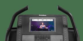 Commercial X14i Treadmills console