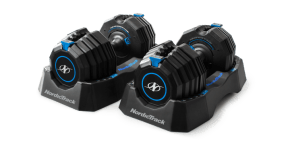 Select-A-Weight 55 Lb. Dumbbell Set Strength Training console