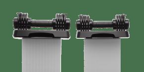 SpeedWeight Adjustable Dumbbells Strength Training console