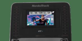 Commercial 9.9 Ellipticals console