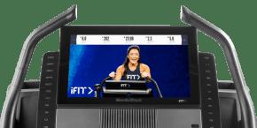 Commercial X22i Treadmills console