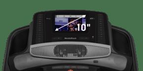 Commercial 1750 TAPIS DE COURSE console