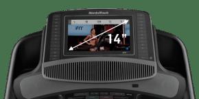 Commercial 2450 TAPIS DE COURSE console