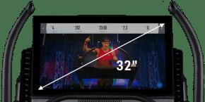 Incline Trainer X32i TAPIS DE COURSE console