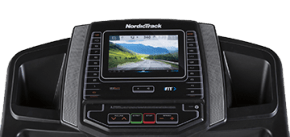 S 50 TREADMILLS console