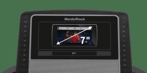 T 7.5 S TREADMILLS console