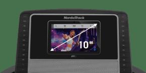 T 8.5 S TREADMILLS console