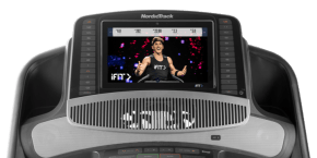 Commercial 2450 TREADMILLS console