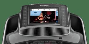 C 2450 Treadmills console